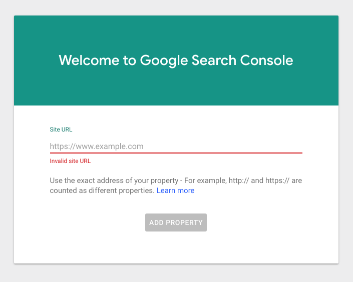 Nieuwe interface Google Search Console